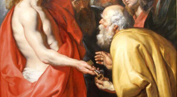 CONVINHA CRISTO DAR A PEDRO AS CHAVES CELESTIAIS?
